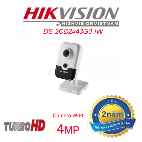 camera wifi không dây hikvisionDS-2CD2443G0-IW