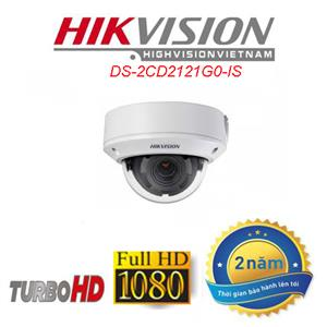 Camera IP dome HIKVISION DS-2CD2121G0-IS 2.0MP full HD