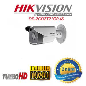 Camera IP thân trụ HIkvision DS-2CD2T21G0-IS 2.0MP full HD