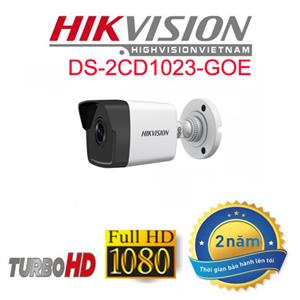 Camera IP thân trụ HIkvision DS 2CD1023GOE 2.0MP