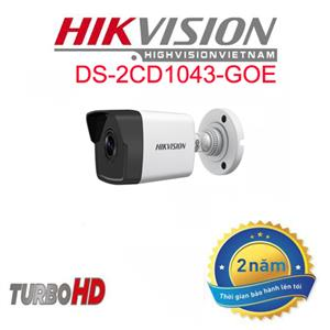 Camera IP thân trụ HIkvision DS 2CD1043GOE 4.0MP