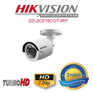 DS 2CE16COT IRP camera thân trụ hikvison HD 720P